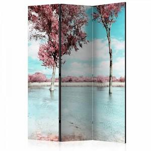 artgeist Paravent Autumn scenery [Room Dividers] mehrfarbig Gr. 135 x 172
