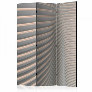 artgeist Paravent Cool Stripes [Room Dividers] orange-kombi Gr. 135 x 172