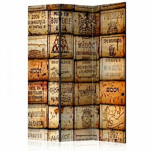 artgeist Paravent Winy Trail [Room Dividers] braun Gr. 135 x 172