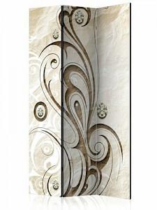 artgeist Paravent Stone Butterfly [Room Dividers] braun-kombi Gr. 135 x 172