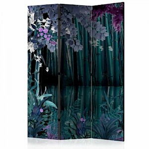 artgeist Paravent Mysterious night [Room Dividers] mehrfarbig Gr. 135 x 172