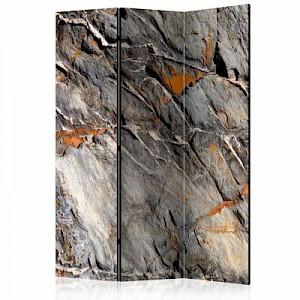 artgeist Paravent Mountain Bastion [Room Dividers] orange-kombi Gr. 135 x 172