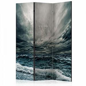 artgeist Paravent Ocean waves [Room Dividers] weiß-kombi Gr. 135 x 172
