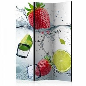 artgeist Paravent Fruit cocktail [Room Dividers] mehrfarbig Gr. 135 x 172