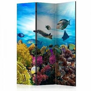 artgeist Paravent Coral reef [Room Dividers] mehrfarbig Gr. 135 x 172