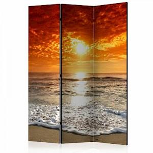 artgeist Paravent Marvelous sunset [Room Dividers] mehrfarbig Gr. 135 x 172