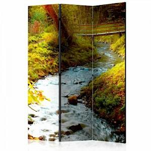 artgeist Paravent brook (sunrise) [Room Dividers] mehrfarbig Gr. 135 x 172