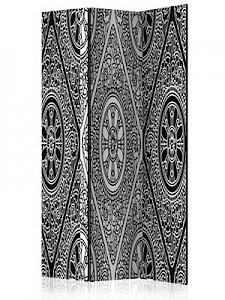 artgeist Paravent Ethnic Monochrome [Room Dividers] schwarz/weiß Gr. 135 x 172