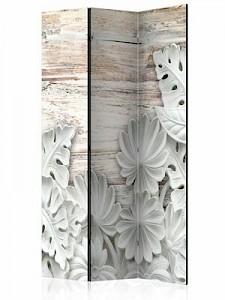 artgeist Paravent Alabastrine Grove [Room Dividers] braun/weiß Gr. 135 x 172