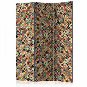 artgeist Paravent Rainbow Mosaic [Room Dividers] mehrfarbig Gr. 135 x 172