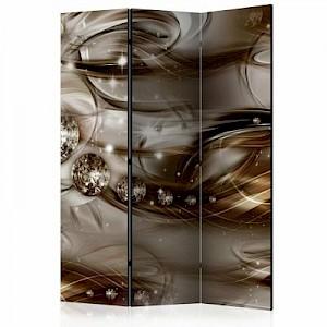 artgeist Paravent Grey River [Room Dividers] mehrfarbig Gr. 135 x 172