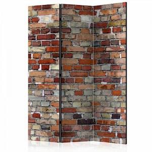 artgeist Paravent Urban Brick [Room Dividers] mehrfarbig Gr. 135 x 172