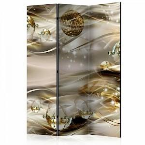 artgeist Paravent Golden Nebula [Room Dividers] mehrfarbig Gr. 135 x 172