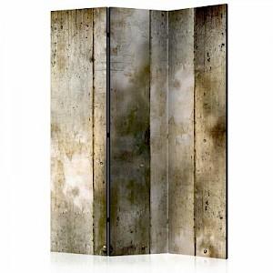 artgeist Paravent Gold stripes [Room Dividers] braun/beige Gr. 135 x 172