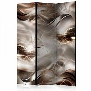 artgeist Paravent Umber Waves [Room Dividers] mehrfarbig Gr. 135 x 172