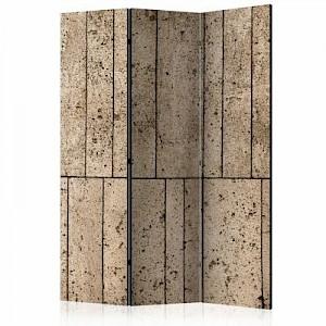 artgeist Paravent Beige Wall [Room Dividers] braun Gr. 135 x 172