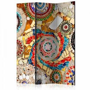 artgeist Paravent Moroccan Mosaic  [Room Dividers] mehrfarbig Gr. 135 x 172