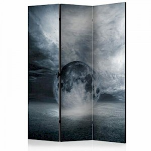 artgeist Paravent The lost planet [Room Dividers] weiß/grau Gr. 135 x 172