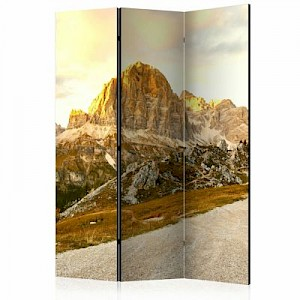 artgeist Paravent Beautiful Dolomites [Room Dividers] mehrfarbig Gr. 135 x 172