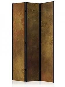 artgeist Paravent Golden Temptation [Room Dividers] braun-kombi Gr. 135 x 172