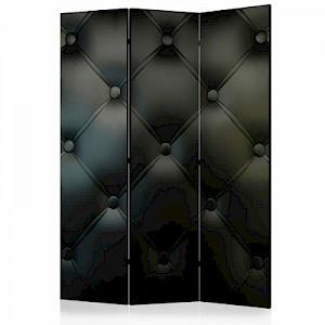 artgeist Paravent Distinguished Elegance [Room Dividers] grau/schwarz Gr. 135 x 172