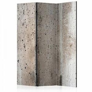 artgeist Paravent Old Concrete [Room Dividers] grau Gr. 135 x 172