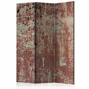 artgeist Paravent Street rain [Room Dividers] grau-kombi Gr. 135 x 172