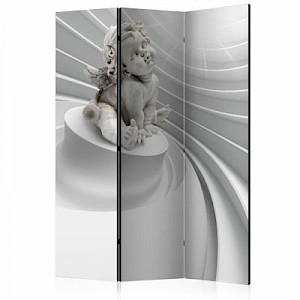 artgeist Paravent Angelic Glow [Room Dividers] schwarz/weiß Gr. 135 x 172