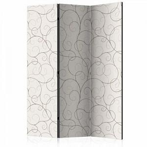 artgeist Paravent Black Streamers [Room Dividers] schwarz/beige Gr. 135 x 172