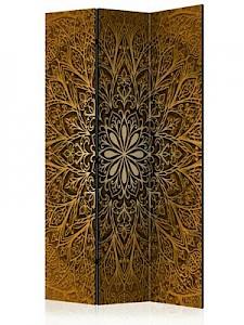 artgeist Paravent Sacred Circle [Room Dividers] beige-kombi Gr. 135 x 172