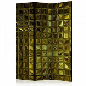 artgeist Paravent Golden Afterglow [Room Dividers] gold Gr. 135 x 172