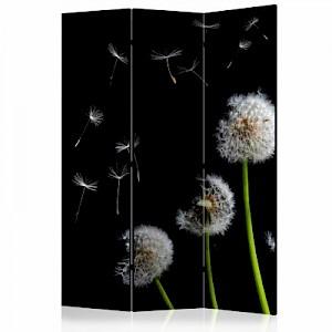 artgeist Paravent Dandelions in the wind [Room Dividers] mehrfarbig Gr. 135 x 172