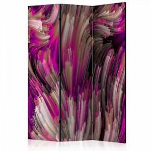 artgeist Paravent Purple Energy [Room Dividers] mehrfarbig Gr. 135 x 172