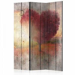 artgeist Paravent Autumnal Love [Room Dividers] mehrfarbig Gr. 135 x 172