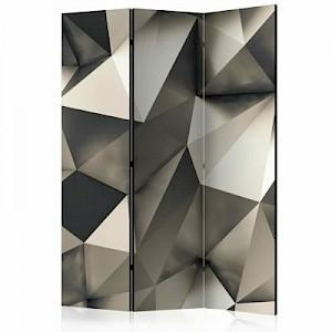 artgeist Paravent Cosmic Silver [Room Dividers] grau/beige Gr. 135 x 172