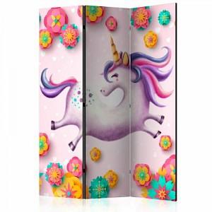 artgeist Paravent Lithe Unicorn [Room Dividers] mehrfarbig Gr. 135 x 172