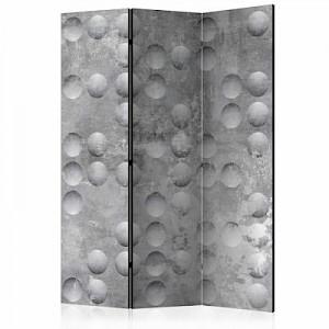 artgeist Paravent Dancing bubbles [Room Dividers] grau Gr. 135 x 172