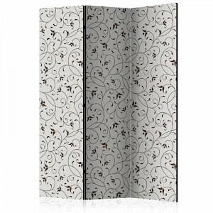 artgeist Paravent Black Twigs [Room Dividers] grau/schwarz Gr. 135 x 172
