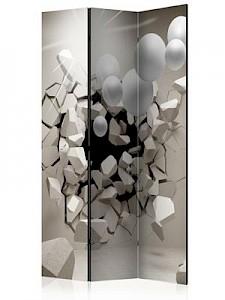 artgeist Paravent Release Me! [Room Dividers] beige/weiß Gr. 135 x 172