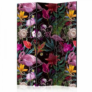 artgeist Paravent Colorful Exotic [Room Dividers] mehrfarbig Gr. 135 x 172