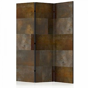 artgeist Paravent Golden Cascade [Room Dividers] mehrfarbig Gr. 135 x 172