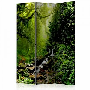 artgeist Paravent The Fairytale Forest [Room Dividers] mehrfarbig Gr. 135 x 172