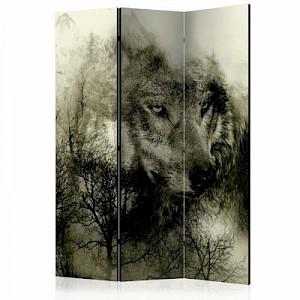 artgeist Paravent Mountain Predator (Beige) [Room Dividers] mehrfarbig Gr. 135 x 172