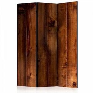artgeist Paravent Pine Board [Room Dividers] braun Gr. 135 x 172