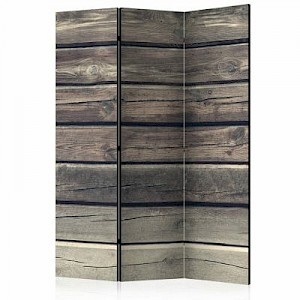 artgeist Paravent Country Style [Room Dividers] grau Gr. 135 x 172