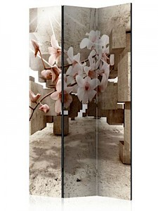 artgeist Paravent Little Miracles [Room Dividers] beige-kombi Gr. 135 x 172