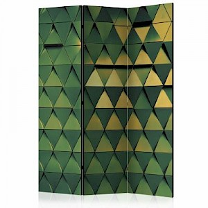 artgeist Paravent Dragon Scales [Room Dividers] mehrfarbig Gr. 135 x 172