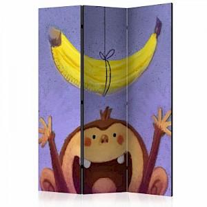 artgeist Paravent Bananana [Room Dividers] gelb-kombi Gr. 135 x 172