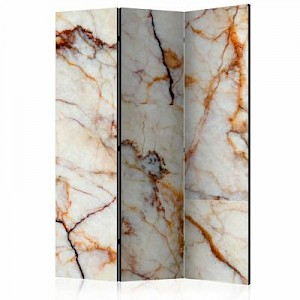 artgeist Paravent Marble Plate [Room Dividers] grau-kombi Gr. 135 x 172