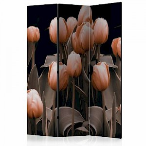 artgeist Paravent Ladies among the flowers [Room Dividers] mehrfarbig Gr. 135 x 172
